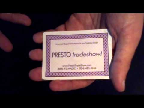 52-on-1 Tradeshow Promotional Card