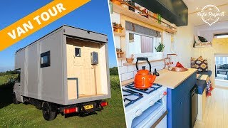 Van Tour - Beautiful Box Van Luton Conversion