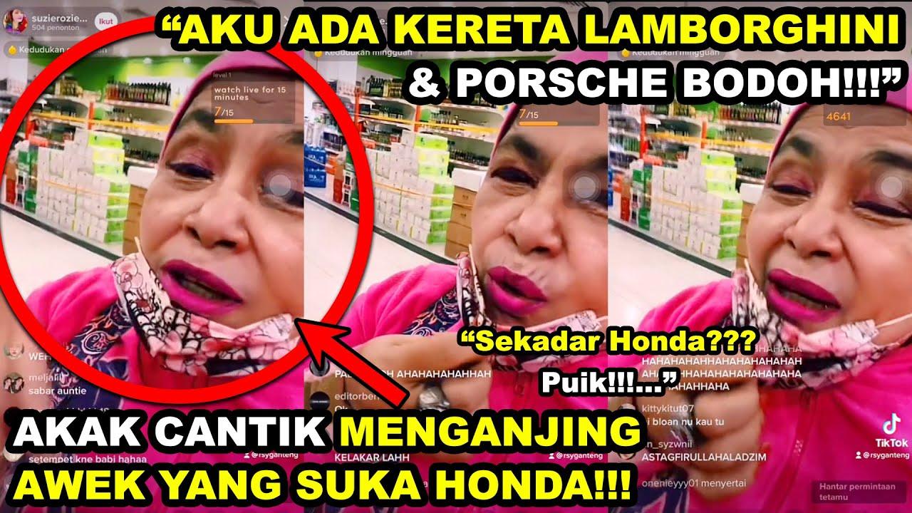 "Download Akak Pink MENGANJING AWEK TIKTOK Yang Suka Kereta Honda | ""Aku Ada LAMBORGHINI & PORSCHE BODOH!!!"""