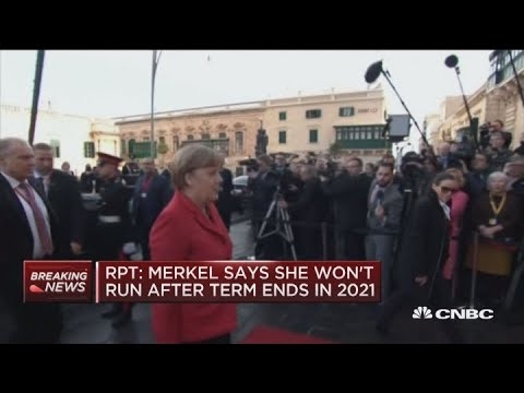 Angela Merkel says she won't run after term ends in 2021: Report