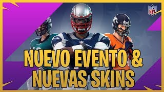 NEW SKIN NFL AND EXTRAS IN FORTNITE