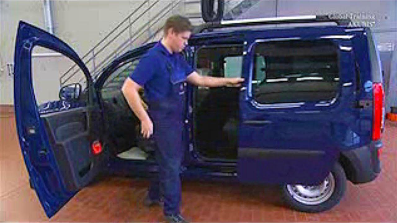 Mercedes Benz Citan Sitzkissenpolster Aus Einbauen
