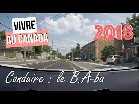 Conduire Au Canada : Le B.A-ba (2018)