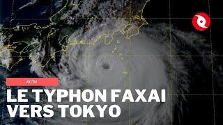 La mégapole Tokyo cible du typhon Faxai