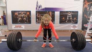 Недетские соревнования по ПАУЭРЛИФТИНГУ очень сильные девушки и мужчины strong men and strong women