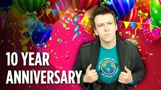 Happy 10 Year YouTube Anniversary Philip DeFranco!