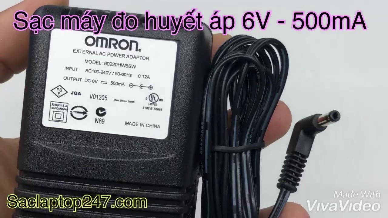 Adapter sạc máy đo huyết áp OMRON chính hãng – Saclaptop247.com