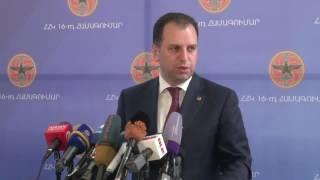 Եկել եմ աջակցելու և օգնելու Վիգեն Սարգսյան