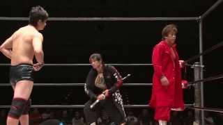 2013年8月25日 名古屋国際会議場イベントホール BJW認定タッグ選手権試...