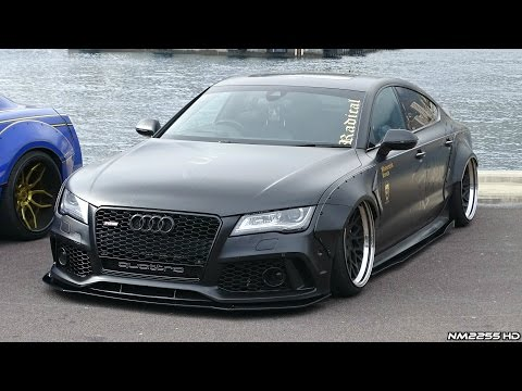 INSANE Audi A7 3.0 TDI Widebody with LOUD Exhaust & CRAZY Mods!!