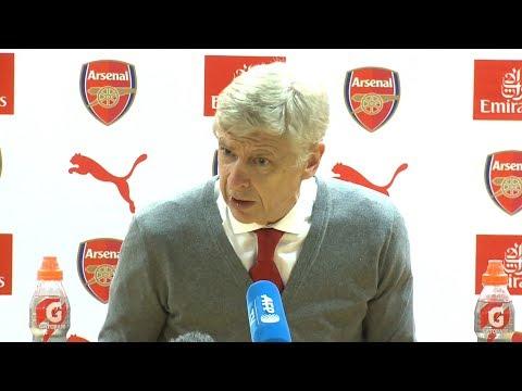 Arsenal 1-3 Manchester United - Arsene Wenger Post Match Press Conference - Premier League #ARSMUN