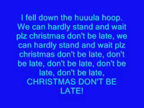 alvin and the chipmunks christmas song lyrics - Alvin And The Chipmunks Christmas Songs
