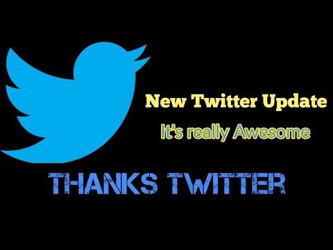 Twitter update 2018 || Save TWEET as Bookmark