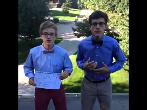 Eric and Winston build confidence to ask their dates to homecoming Funniest Vines