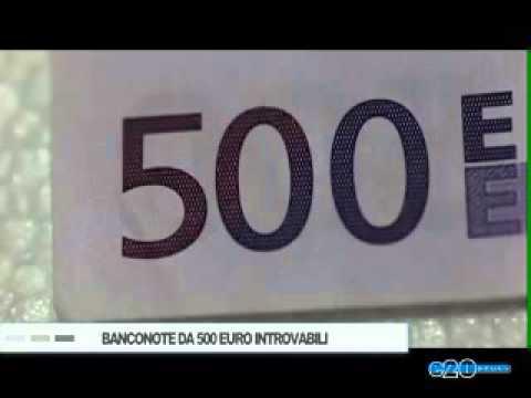 BANCONOTE DA 500 EURO INTROVABILI