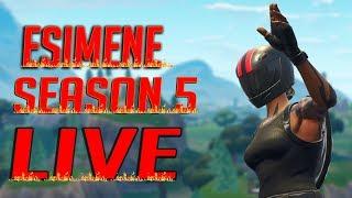 Esimene Season 5 Live! (Fortnite Battle Royale)