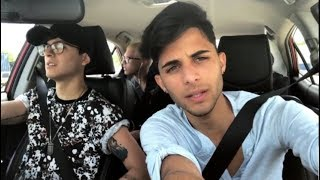 KARAOKE EN EL CARRO con Christopher y Erick 😱😍