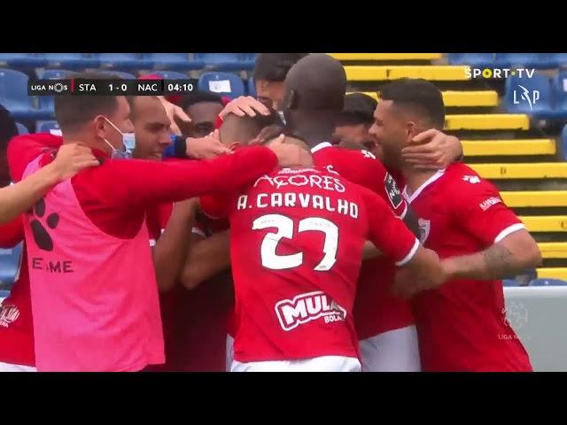 Goal | Golo M. Villanueva: Santa Clara (1)-0 CD Nacional (Liga 20/21 #26)