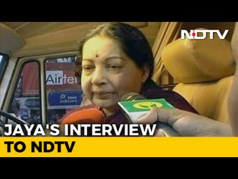 Watch: Jayalalithaa's Interview to NDTV Before Her Big 2011 Comeback