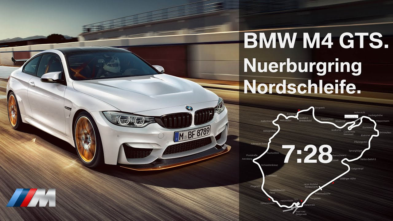 BMW's M4 GTS is the fastest production Bimmer around the Nürburgring