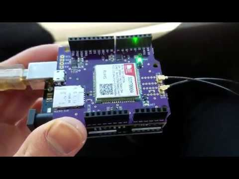 #11 SIM7000 Arduino GPS Tracker Road Test