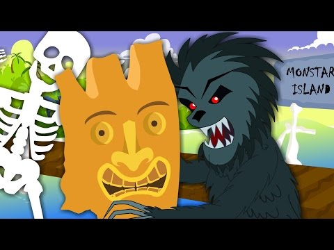 Monster Island Song | Original Song For Kids And Childrens | Baby Nursery Rhymes