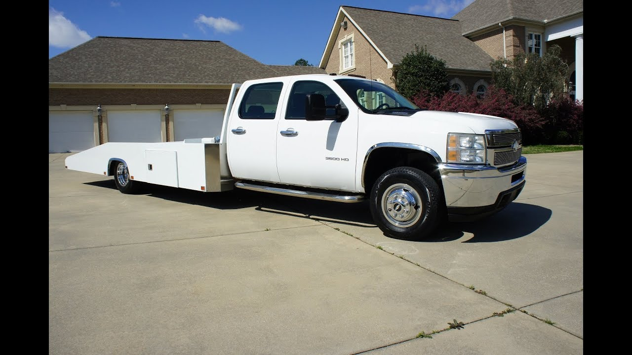 2011 Chevrolet Silverado 3500 Car Hauler Hodges Bed For Sale Youtube