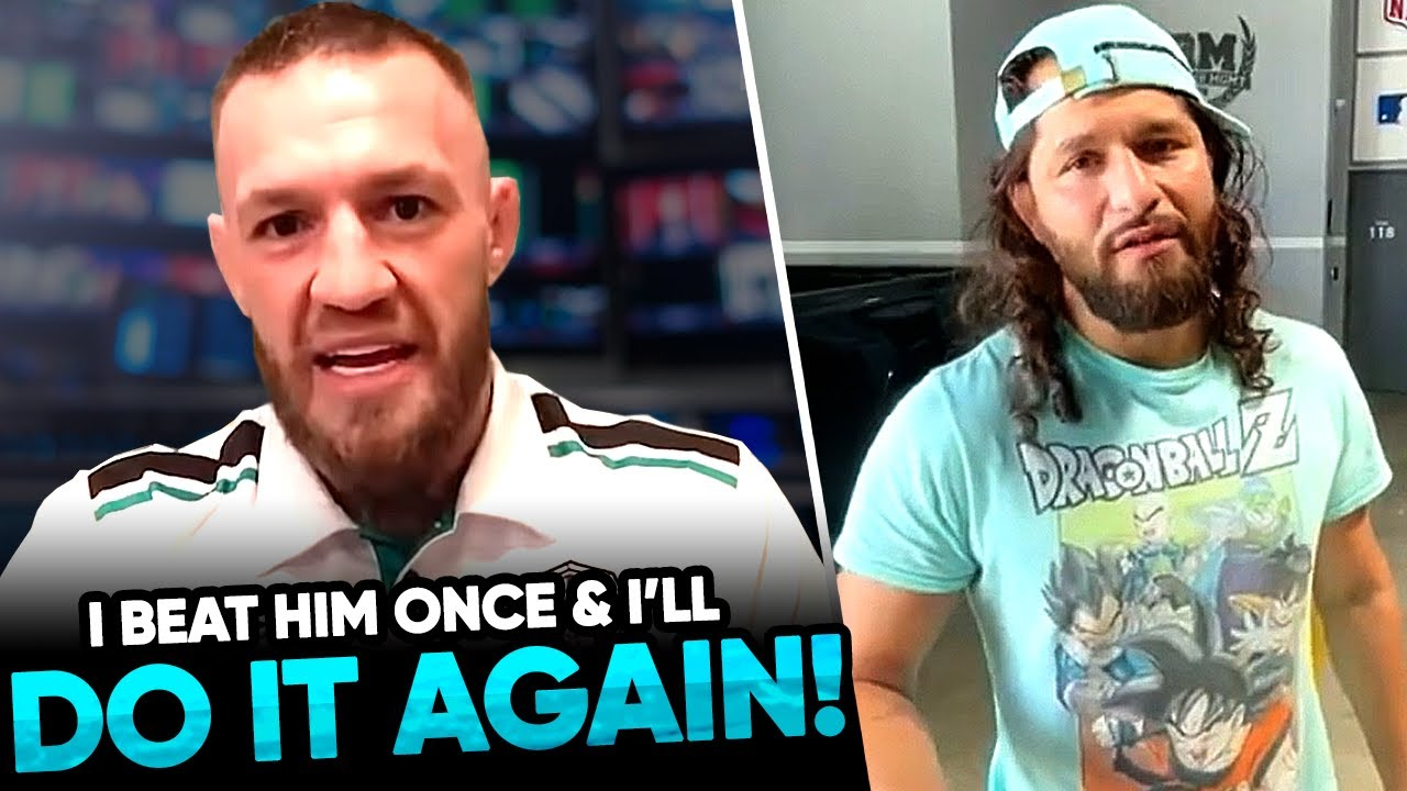 Conor McGregor sends a WARNING to Dustin Poirier in a NEW interview, Jorge Masvidal predicts Nate Di