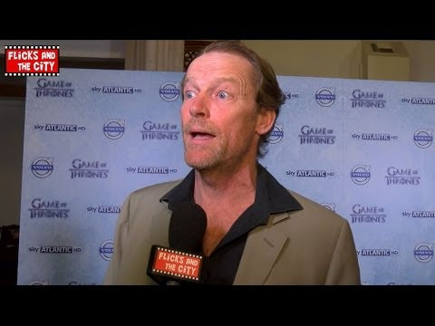 GAME OF THRONES Iain Glen Premiere Interview