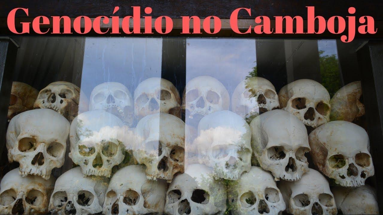 Khmer Vermelho e o genocídio do Camboja - visitando prisões e campos de extermínio em Phnom Penh