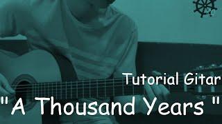 Belajar Gitar (A Thousand Years - Christina Perri)