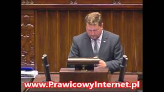 Bartosz Jóźwiak (Kukiz'15) zabijacie polskie łowiectwo!