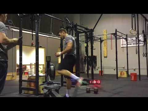 Nick Martindale 18.1 Crossfit Games Open- 424