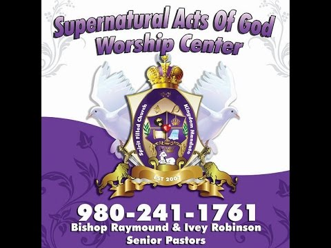 Supernatural Acts of God -It's In Your DNA(Prophetess Mayranda Parks)05/29/2016