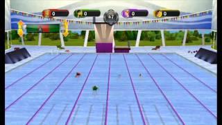 101 in 1 Sports Party Megamix - Swimming Splash - Nintendo Wii