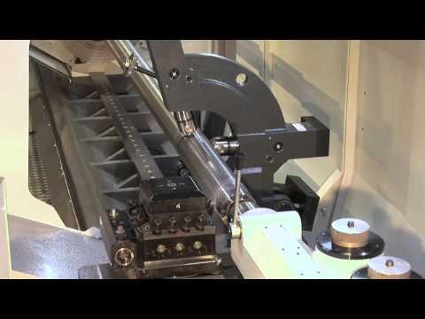 Die WEILER 4-Bahnen-Präzisions-Drehmaschine mit Zyklenautomatik