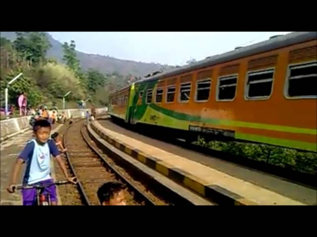 Kereta api indonesia Travel Video