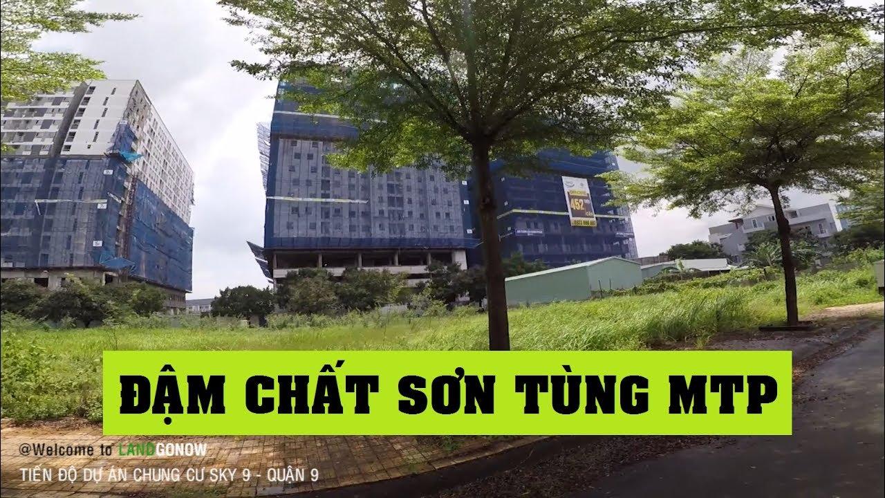 Tiến độ dự án CC Sky 9, Liên Phường, Phú Hữu, Quận 9 – Land Go Now ✔