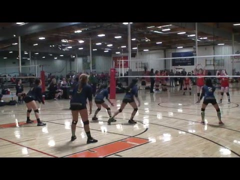 Offshore Volleyball Club 13-1 Girls vs Sunshine 13-Extreme Match1