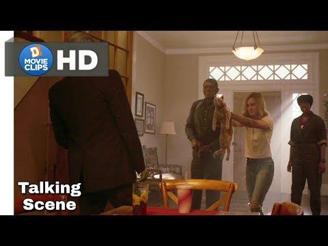 Captain Marvel Hindi (09/15) Talking To Skrull Alien Scene MovieClips