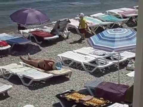 Алупка пляж сан. Горное солнце 18-06-2014