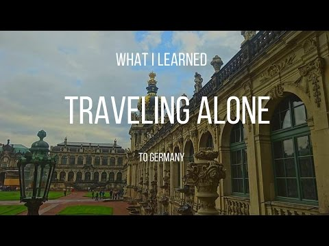 TRAVELING BY MYSELF TO GERMANY| Alexis Louise