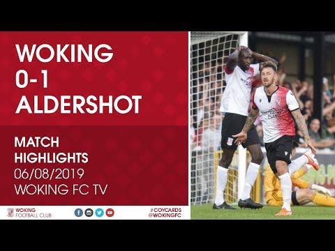 Woking 0 - 1 Aldershot Town | Match Highlights