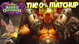 The Casual 0% WR Matchup vs Warrior | Firebat Hearthstone