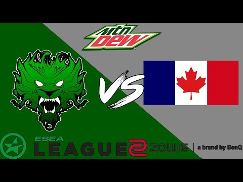ESEA Premier | Mythic vs French Canadians