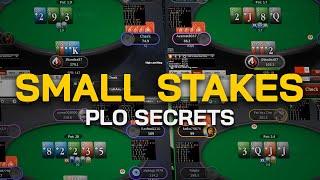 Small Stakes PLO Secrets - Railing Pot Limit Omaha