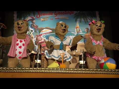 4K Country Bear Jamboree Vacation Hoedown Tokyo Disneyland