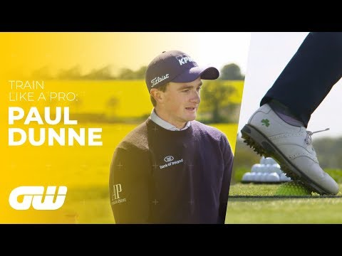 Paul Dunne's Unusual DIY Training Aid