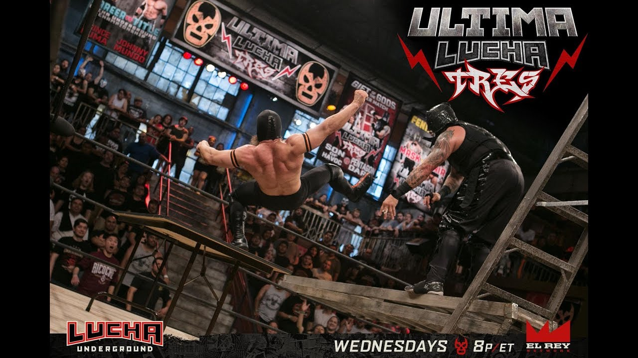 "Download ""M2H"" Lucha Underground Ultima Lucha Tres 2017 part 3 Highlights"