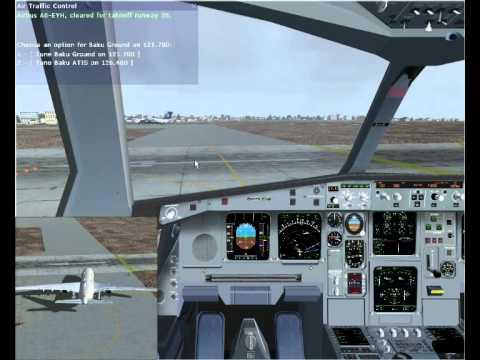 "Airbus A330-200 ""Etihad Airlines"". Azerbaijan, Baku (UBBB) - UAE, Dubai (OMDB) Part 1"